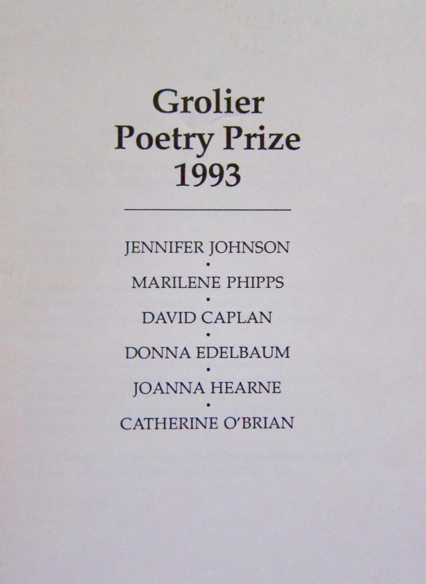 Grolier Poetry Prize
